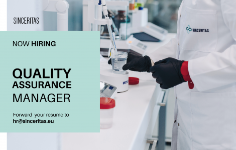 OPEN POSITION: Quality Assurance Manager