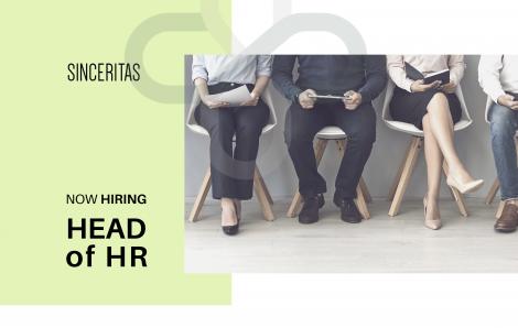 OPEN POSITION: Head of HR